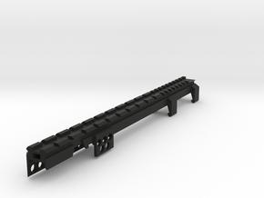 G3 T3 SAS Top Full Length Picatinny Rail in Black Natural Versatile Plastic