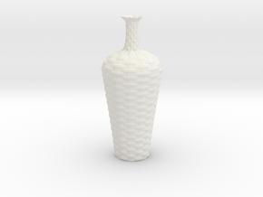 Vase BV1022 in White Natural Versatile Plastic