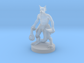 Kobold with a Sling in Smooth Fine Detail Plastic
