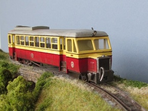 009 Atkinson Walker Railcar Cab - B in White Natural Versatile Plastic