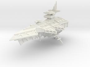 Crucero Pesado clase Estigia in White Natural Versatile Plastic