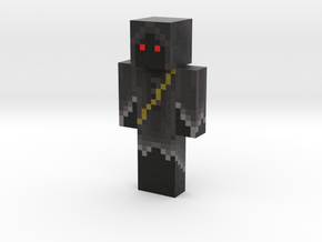 Death | Minecraft toy in Natural Full Color Sandstone