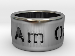 I Am Other Ring in Antique Silver: 7 / 54