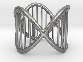 Ring 17 in Natural Silver (Interlocking Parts)
