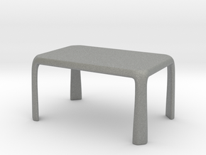 1:50 - Miniature Modern Dining Table  in Gray PA12