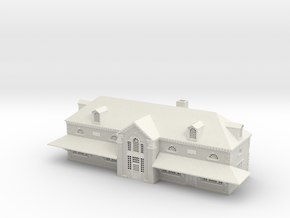 Perryville Station  MD  in White Natural Versatile Plastic