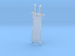 Knight Banner 1.0 in Smoothest Fine Detail Plastic