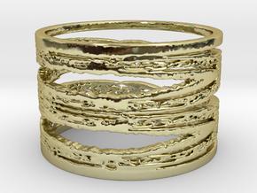 Bluestar Filligree Ring   in 18K Yellow Gold: 6 / 51.5