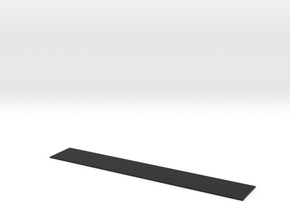 Yleisavovaunu Ob, lankutus (H0) in Black Natural Versatile Plastic