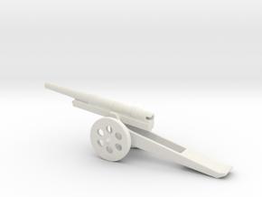 13cm L/35 Kanone  09 steel 1/160 in White Natural Versatile Plastic