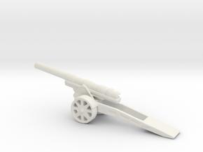 skoda 15 cm Autokanone M. 15 16 1/200 in White Natural Versatile Plastic