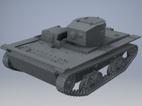 1/72nd (20 mm) scale T-38M tank in Smooth Fine Detail Plastic