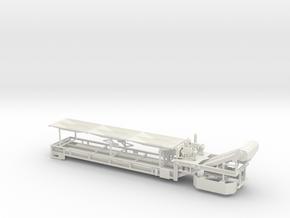 1/64th Dual Belt Conveyor in White Natural Versatile Plastic