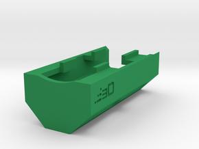 G3 T3 SAS Vented M-LOK Handguard in Green Processed Versatile Plastic