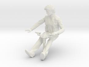 1/43 scale figure for DeAgostini Millennium Falcon in White Premium Versatile Plastic