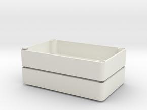 electronic box in White Natural Versatile Plastic