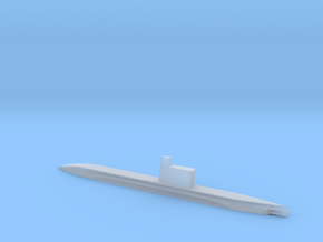 1/1800 Scale Quebec Russina Submarine in Smooth Fine Detail Plastic