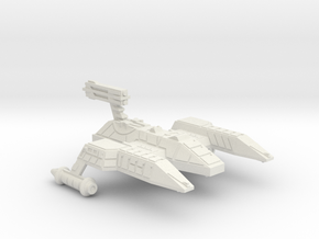 3125 Scale Lyran Lioness Heavy Cruiser (CAL) CVN in White Natural Versatile Plastic