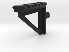 aa-12 sights rail in Black Natural Versatile Plastic