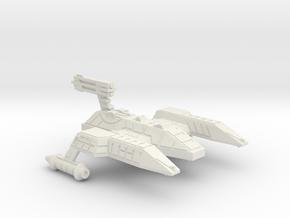 3788 Scale Lyran Refitted Lioness Heavy Cruiser in White Natural Versatile Plastic