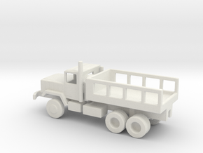 1/200 Scale M929 Cargo Truck in White Natural Versatile Plastic