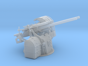 "1/100 IJN 12.7 cm/40 (5"") Type 89 Naval Gun Twin  in Smooth Fine Detail Plastic"