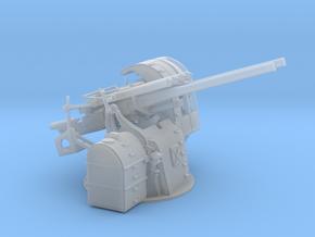 "1/100 IJN 12.7 cm/40 (5"") Type 89 Naval Gun Twin in Smooth Fine Detail Plastic"