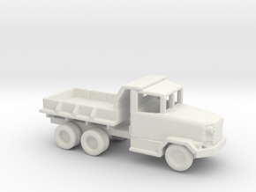 1/200 Scale M34 Dump Truck in White Natural Versatile Plastic