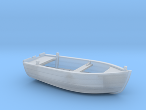 HObat40 - Wooden smallboat in Smoothest Fine Detail Plastic