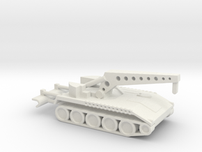 1/200 Scale T119 25 Ton Recovery in White Natural Versatile Plastic