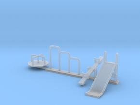 Playground in 1:87 H0 scale in Smooth Fine Detail Plastic