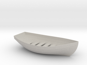 Boat Soap Holder in Natural Full Color Sandstone