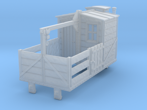 HOe-wagon07 - Crate of workshop wagon in Smooth Fine Detail Plastic