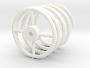 BACK FUTURE TRAIN COIL NEW in White Processed Versatile Plastic