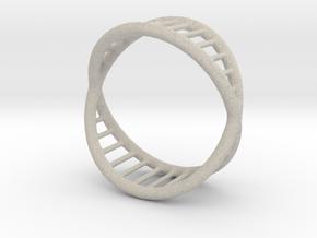Ring 14 in Natural Sandstone