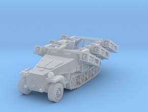 Sdkfz 251 D1 Stuka Zu Fuss scale 1/144 in Smooth Fine Detail Plastic
