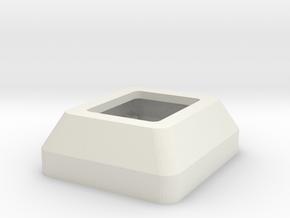 KeyPadCase in White Natural Versatile Plastic