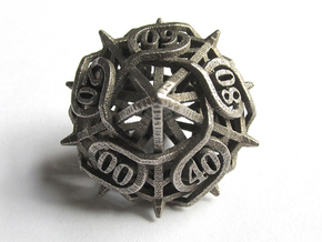 Thorn Decader Die10 in Polished Bronzed Silver Steel