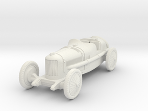 1/72 Alfa Romeo P2 Bauletto in White Natural Versatile Plastic