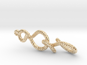 infinity in 14k Gold Plated Brass