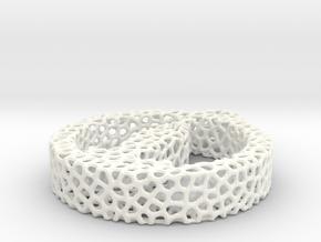 722 voronoi in White Processed Versatile Plastic