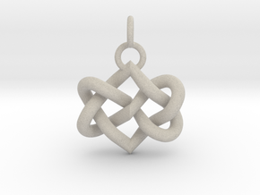 Celtic heart in Natural Sandstone