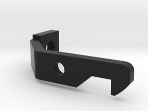 4x5 Film Back Upper Latch in Black Natural Versatile Plastic