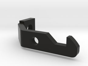 4x5 Film Back Lower Latch in Black Natural Versatile Plastic