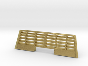grid snow holders for er 2t soviet electric train in Natural Brass: 1:160 - N