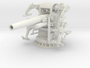 Best Cost 1/24 USN 5 Inch 25 GUN MOUNT MARK 40 in White Natural Versatile Plastic