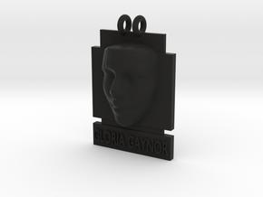 Cosmiton P Gloria Gaynor 25 mm in Black Premium Versatile Plastic
