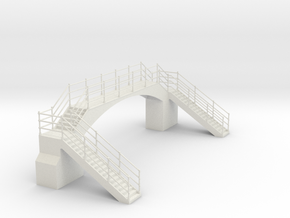z-87-lswr-footbridge1 in White Natural Versatile Plastic