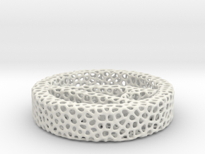 1a_voronoi yoga in White Natural Versatile Plastic