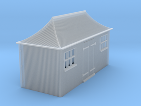 z-152fs-gwr-pagoda-shed-1 in Smooth Fine Detail Plastic
